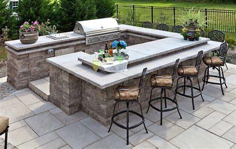 Best Outdoor Countertop by Best Outdoor Kitchen Countertops Options Cad Pro