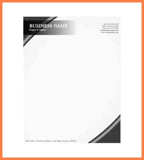 editable letterhead template business theme 2 11 professional company letterhead template company