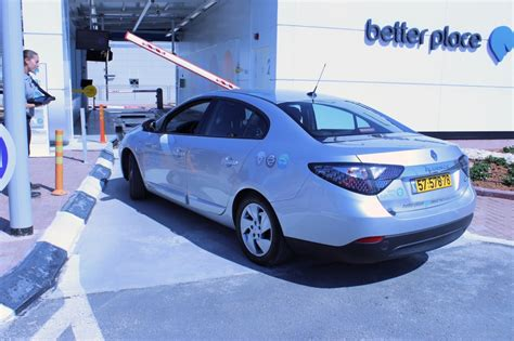 better place car better place electric car battery swapping live report