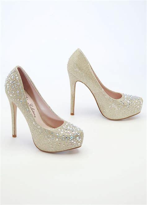 wedding shoes davids bridal david s bridal wedding bridesmaid shoes glitter mesh