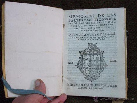 partes del libro antiguo antiguo y raro libro memorial de las partes y s comprar libros antiguos biograf 237 as en