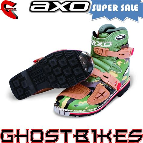 shorty motocross boots axo slammer enduro pit bike atv motocross motorcycle