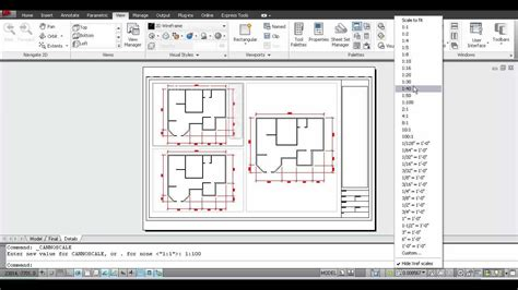 layout autocad viewport creating layouts and viewports in autocad in arabic