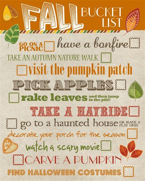 thursday s with tracie fall bucket list ideas