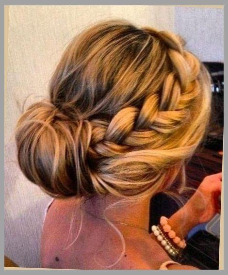 Wedding Hair Side Bun Plait by Side Braid Into Bun With Regard To Your Hairdo Hair And