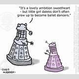 Dalek Cartoon Exterminate | 520 x 457 gif 57kB