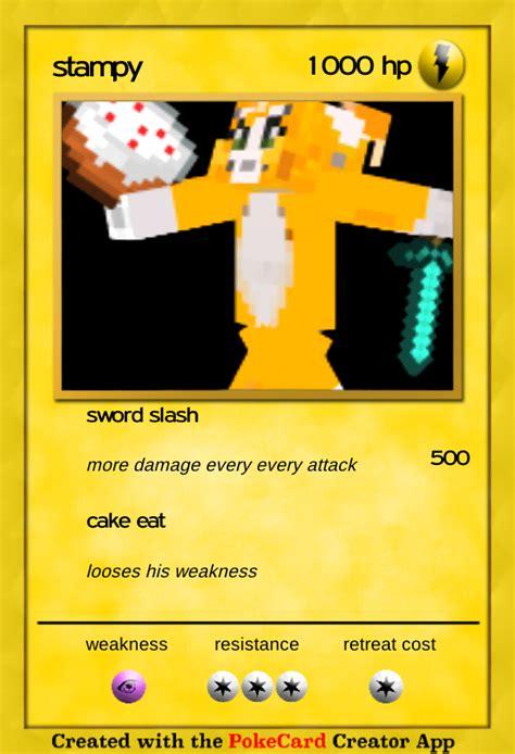 Target Home Design Inc Pokemon Card Stampy Stampylongnose Photo 38599264 Fanpop