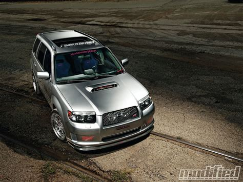subaru forester modified 2007 subaru forester xt sports modified magazine
