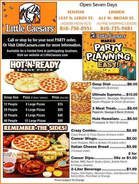 Home Decor Brandon Fl little caesars pizza menu