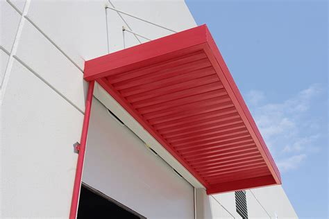 plastic awning panels imperial marquee awning with w shaped panels