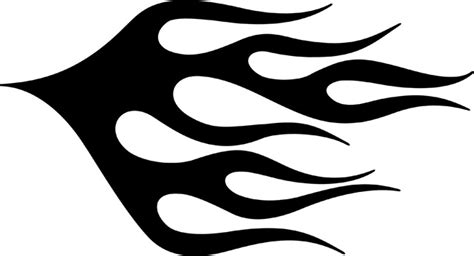 flames template simple stencils www pixshark images