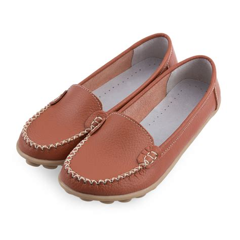 oxford loafers womens shoes flats leather slip on comfort shoes moccasins oxford