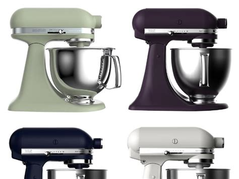 kitchenaid stand mixer colors see kitchenaid s new food inspired stand mixer colors