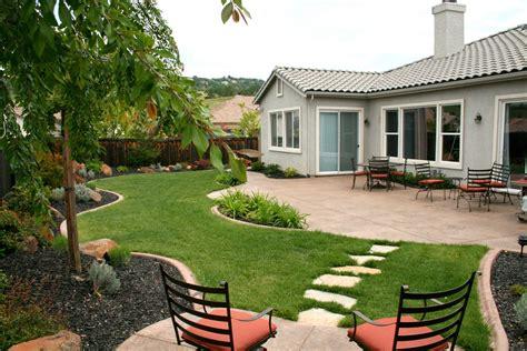 beautiful backyard design plan backyard landscape design without grass