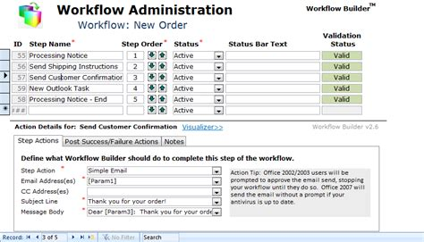 workflow access workflow builder for microsoft access avoid vba