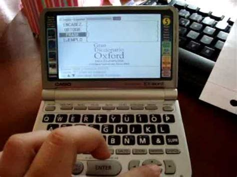 casio electronic dictionary youtube