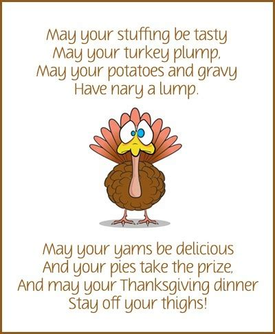 printable turkey poem cute thanksgiving printable thanksgiving pinterest