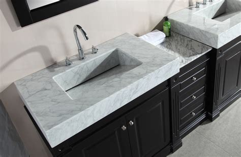 5 sink vanity adorna 88 inch sink bathroom vanity set with trough