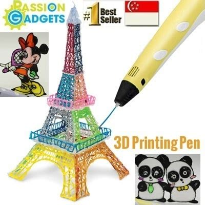 3d doodle pen purchase qoo10 local seller 3d pen stereoscopic printing doodle