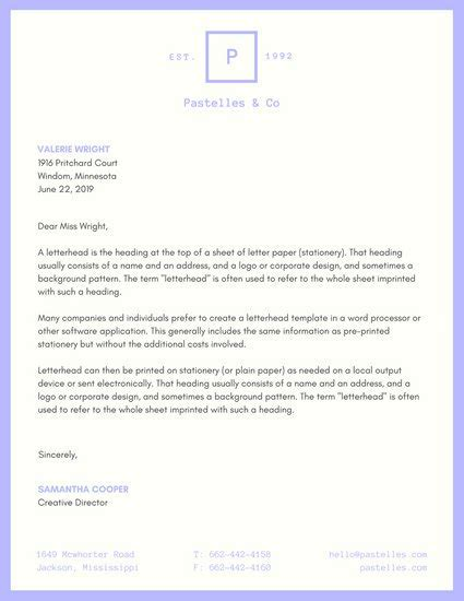business letterhead requirements grey abstract professional letterhead templates