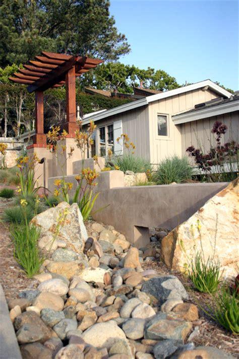 drought tolerant front yard contemporary landscape