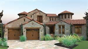 Southwest Style Home Plans Mediterranean Exceptional Views Hwbdo76616