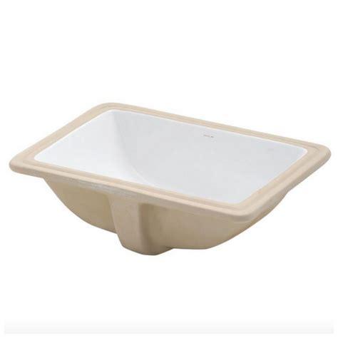 rectangular undermount bathroom sink white decolav undermount bathroom bath sink rectangular white