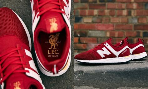 Harga Sepatu New Balance Liverpool lfc and new balance launch footwear range with new trainer