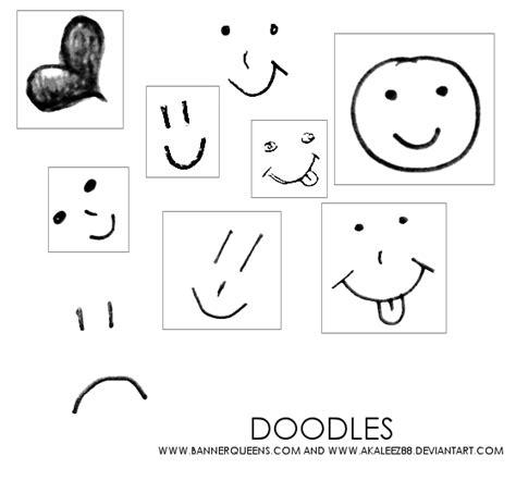 doodle emoticon doodle smilie faces brushes by akaleez88 on deviantart
