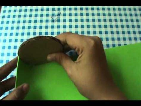 como hacer un jardinero de fomi manualidad como hacer un lapicero de fomi youtube