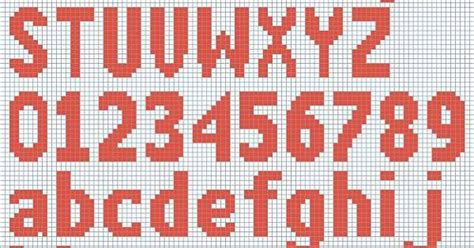 number pattern chart free knitted alphabet and numbers chart courtesy of
