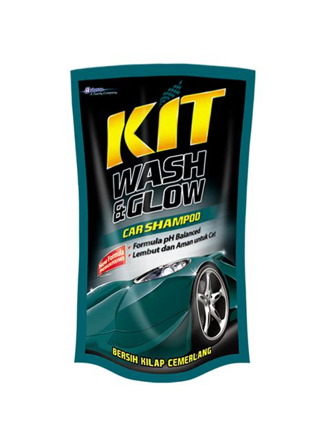 Shoo Mobil Kit Wash Glow 800ml kit car shoo wash glow pch 800ml klikindomaret