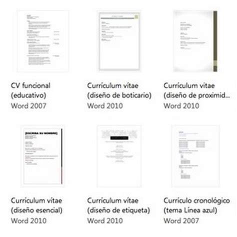 Plantillas De Curriculum Vitae Gratis Word 2007 bajar plantillas de curr 237 culum vitae para word gratis nestavista