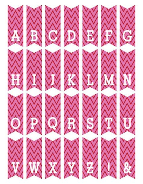 printable letters on bunting free printable mini alphabet bunting from scrapnfonts