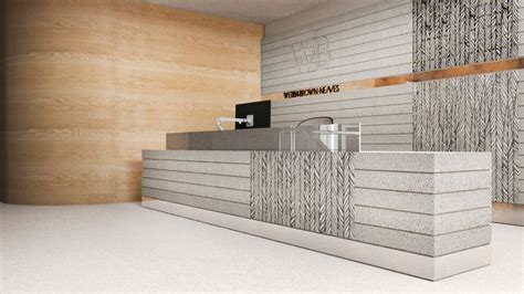 Concrete Reception Desk Pin By Angie Wood Huber On Reception Desks Pinterest