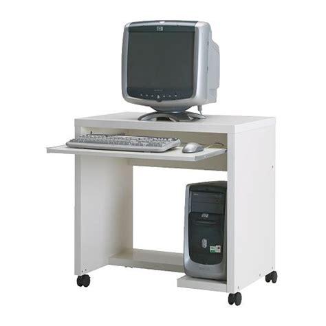 computertisch rollen neuwertiger computertisch auf rollen mikael ikea