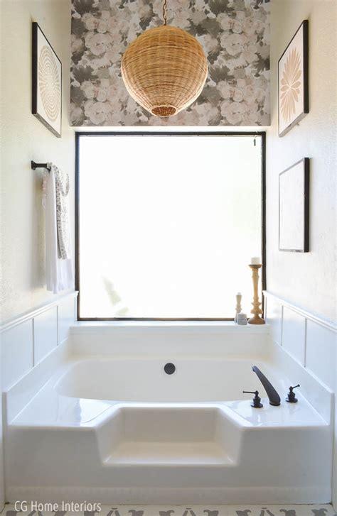 builder grade bathtubs builder grade master bath update for under 2k