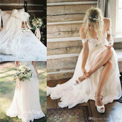 Promo Temurah Boho High Quality Ks discount 2016 boho wedding dresses high quality a