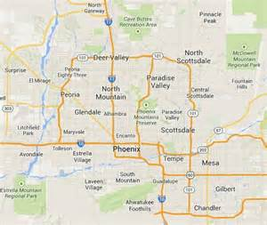 Phoenix Area Map by Phoenix Area Related Keywords Amp Suggestions Phoenix Area
