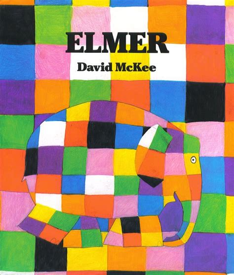 Elmer Patchwork - look create elmer the elephant by david mckee