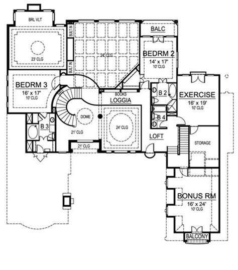 villa siena floor plans mediterranean style home design
