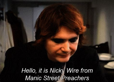 Nicky Is An Idiot by Nicky Wire On
