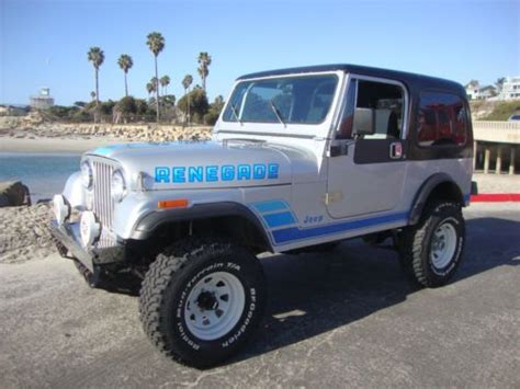1983 Jeep Wrangler For Sale Buy Used 1983 Jeep Cj 7 Rust Free Ca Az Jeep Wrangler 6