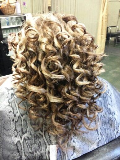 spiral perm makes face fatter piggyback perm long hair think i want this sprial perm