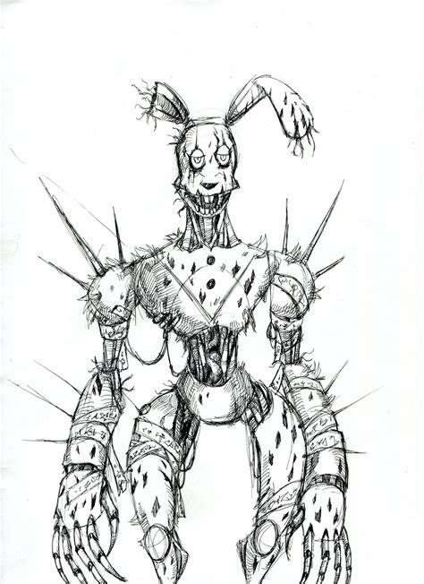cyberpunk springtrap by winddragon24 on deviantart