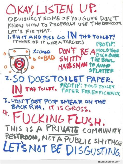 bathroom hygiene cleanliness quotes for bathroom quotesgram