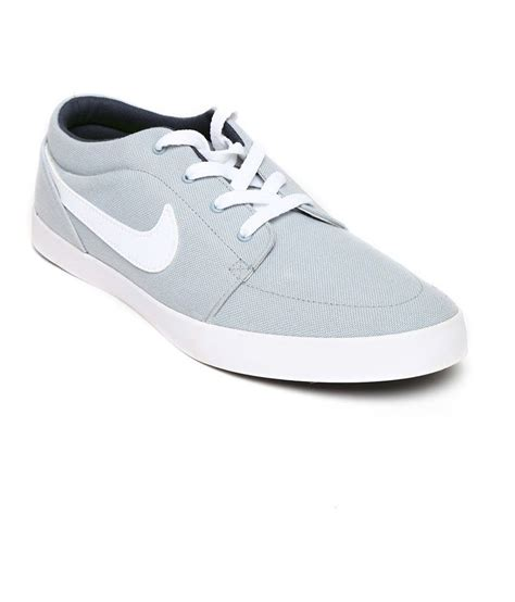Nike Slop Casual Grey Suede nike gray sneaker shoes price in india buy nike gray