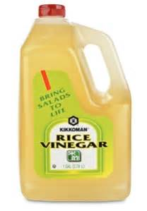 Shelf Of Rice Vinegar by Rice Vinegar 1 Gallon
