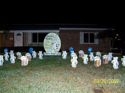 Yard Decorations For Birthday by Flock N 321 430 6454 And 727 687 8111 Longwood