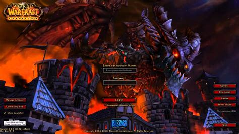 7 Reasons I Like Cataclysm by Totalbiscuit Commentates The Cataclysm Login Screen For No